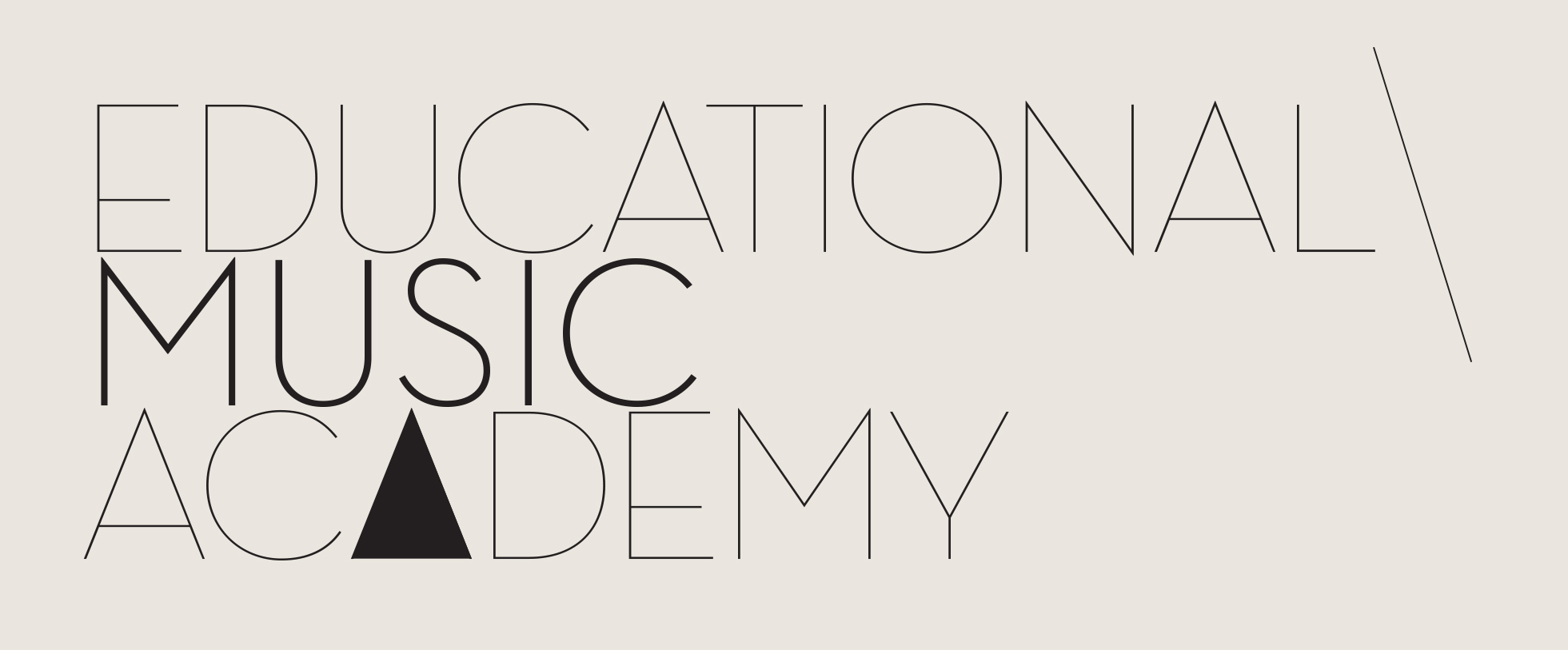 logo educational music academy