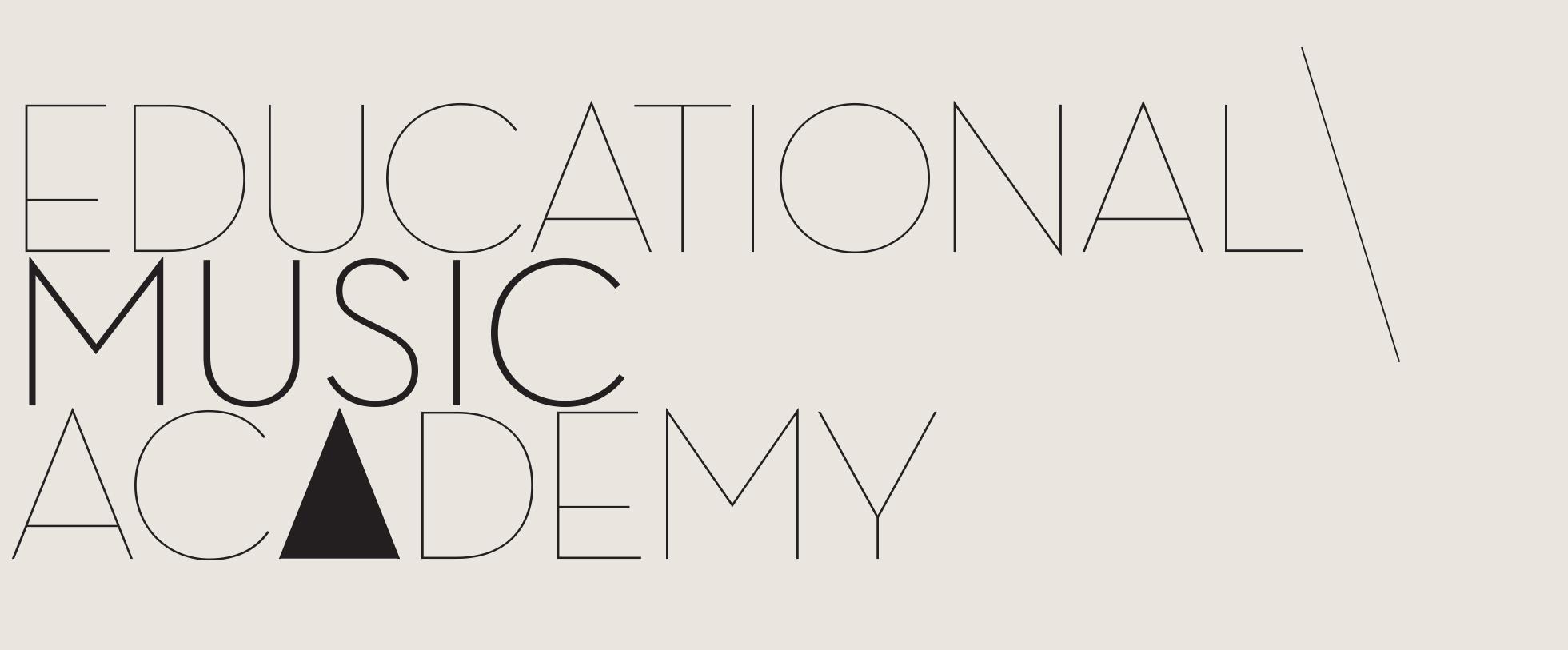 educational music academy logo